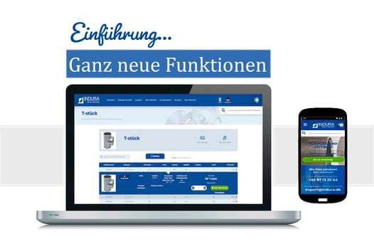 Indura - Website introduktion homepage TYSK - Landing Page