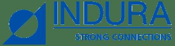 Indura-logo - Blå Gennemsigtig